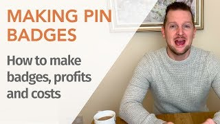 Making Pin Buttons (buttons) | Pin Button Maker