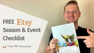 FREE 14 point Season & Event Checklist for your Etsy Business