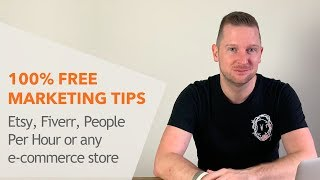 FREE Marketing Tips – Etsy, Fiverr & People Per Hour + Quick Update